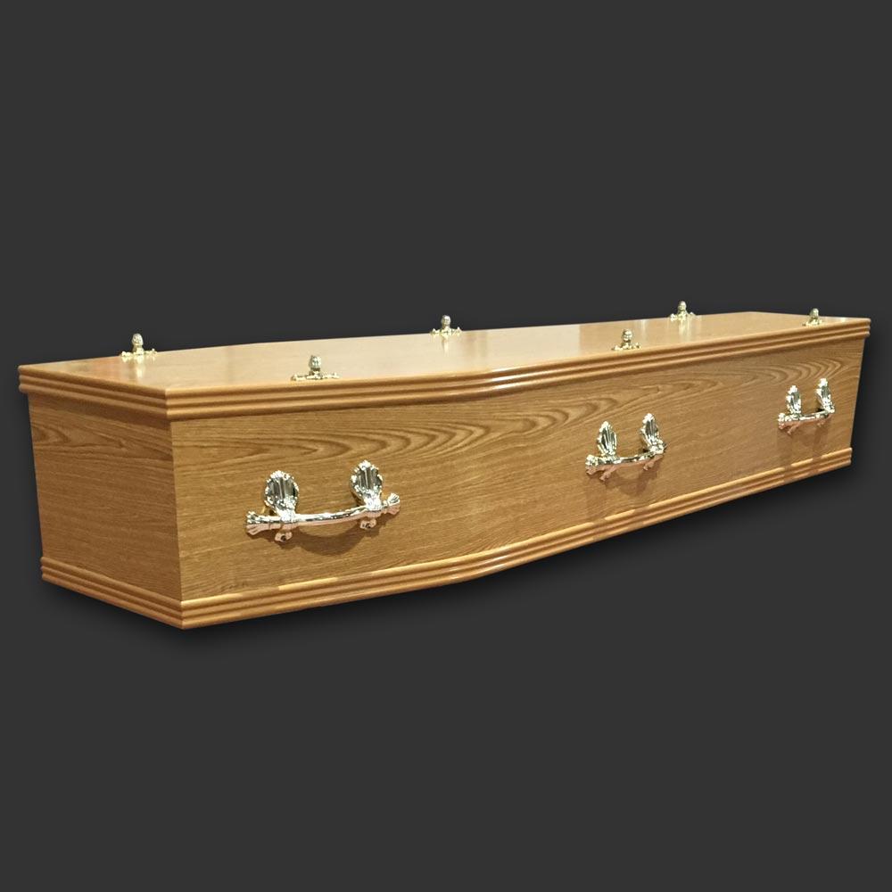 Foil Veneer Coffin